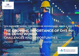 5th edition of Annual Conference on Occupational Health & Safety